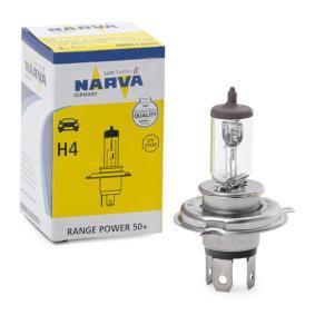 NARVA Glühlampe, Fernscheinwerfer 48861 für AUDI 80 (8C, B4) 2.8 quattro ab Baujahr 09.1991, 174 PS