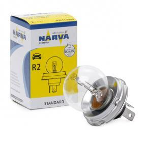 Крушка с нагреваема жичка, фар за дълги светлини R2 (Bilux), 45/40ват, 12волт 49211 LADA Niva (2121, 2131)
