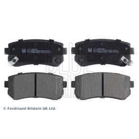 BLUE PRINT  ADG04282 Brake Pad Set, disc brake Width: 41,0mm, Thickness 1: 15,6mm