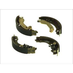 Brake Shoe Set C0F024ABE PANDA (169) 1.2 MY 2012