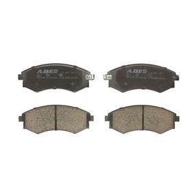 Bremsbelagsatz, Scheibenbremse Breite: 137mm, Höhe: 54mm, Dicke/Stärke: 17mm mit OEM-Nummer 58101-29A20