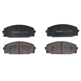 Bremsbelagsatz, Scheibenbremse Breite: 127,5mm, Höhe: 51,9mm, Dicke/Stärke: 15mm mit OEM-Nummer D1060-0N685