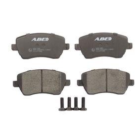 Bremsbelagsatz, Scheibenbremse Breite: 116,2mm, Höhe: 52,1mm, Dicke/Stärke: 17,3mm mit OEM-Nummer 41060 AX625