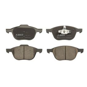 Bremsbelagsatz, Scheibenbremse Breite 1: 66,93mm, Breite: 62,23mm, Dicke/Stärke: 18,4mm mit OEM-Nummer 1223682