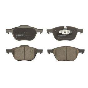 Bremsbelagsatz, Scheibenbremse Breite 1: 66,93mm, Breite: 62,23mm, Dicke/Stärke: 18,4mm mit OEM-Nummer 3M51-2K021-AB