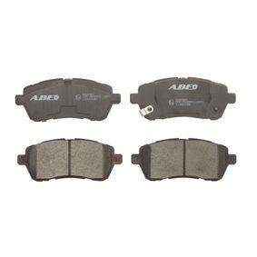 Brake Pad Set, disc brake C13063ABE FIESTA 6 1.6 TDCi MY 2011