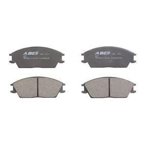 Bremsbelagsatz, Scheibenbremse Breite: 127mm, Höhe: 49mm, Dicke/Stärke: 15mm mit OEM-Nummer 58101-24A00