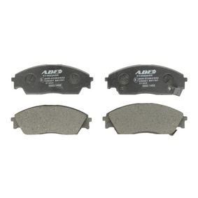 Brake Pad Set, disc brake Width: 132mm, Height: 50mm, Thickness: 15mm with OEM Number 45022-SK3-E00