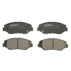 2005 Honda CR-V Mk2 2.0 Brake Pad Set, disc brake C14049ABE