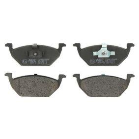 Bremsbelagsatz, Scheibenbremse Höhe: 54,7mm, Dicke/Stärke: 19,8mm mit OEM-Nummer 6Q0-698-151