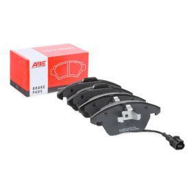 Bremsbelagsatz, Scheibenbremse Höhe: 66mm, Dicke/Stärke: 20,3mm mit OEM-Nummer 5K0.698.151