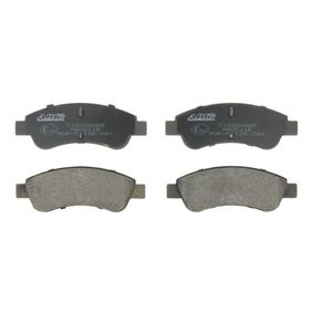 Brake Pad Set, disc brake Height: 51mm, Thickness: 18,8mm with OEM Number 4253.41