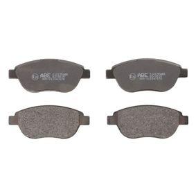 Bremsbelagsatz, Scheibenbremse Breite: 137mm, Höhe: 57,3mm, Dicke/Stärke: 19mm mit OEM-Nummer 42.5467