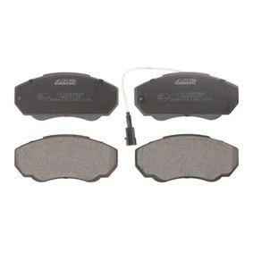 Комплект спирачно феродо, дискови спирачки Артикул № C1C045ABE 370,00BGN