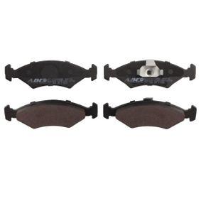 Bremsbelagsatz, Scheibenbremse Höhe: 46,4mm, Dicke/Stärke: 18mm mit OEM-Nummer 1010 503
