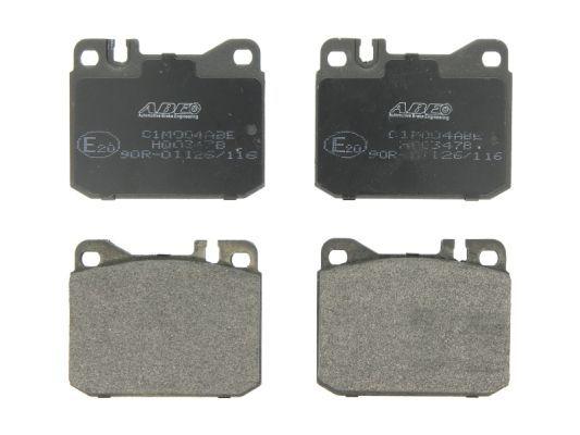 ABE  C1M004ABE Bremsbelagsatz, Scheibenbremse Breite: 89,7mm, Höhe: 73,8mm, Dicke/Stärke: 17,5mm
