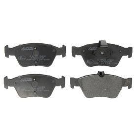 Bremsbelagsatz, Scheibenbremse Höhe: 60mm, Dicke/Stärke: 19,5mm mit OEM-Nummer A002 420 44 20