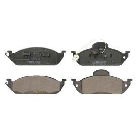 Bremsbelagsatz, Scheibenbremse Breite: 188mm, Höhe: 58,8mm, Dicke/Stärke: 16mm mit OEM-Nummer A163 420 03 20