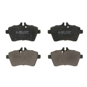 Brake Pad Set, disc brake Width: 116,7mm, Height: 64mm, Thickness: 18,8mm with OEM Number 1694200920