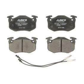 2001 Twingo c06 1.2 Brake Pad Set, disc brake C1R002ABE