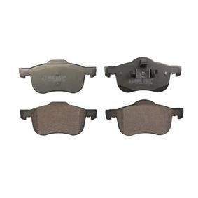 Brake Pad Set, disc brake Width: 155,4mm, Height: 72,5mm, Thickness: 18,5mm with OEM Number 272401