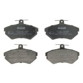 Bremsbelagsatz, Scheibenbremse Breite: 119mm, Höhe: 69,5mm, Dicke/Stärke: 16mm mit OEM-Nummer 1HM 698 151