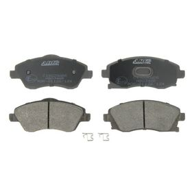 Bremsbelagsatz, Scheibenbremse Breite: 131,6mm, Höhe: 55,5mm, Dicke/Stärke: 16,8mm mit OEM-Nummer 1605 092