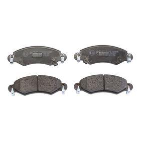 Bremsbelagsatz, Scheibenbremse Breite: 130,9mm, Höhe: 44,5mm, Dicke/Stärke: 16mm mit OEM-Nummer 4704 578