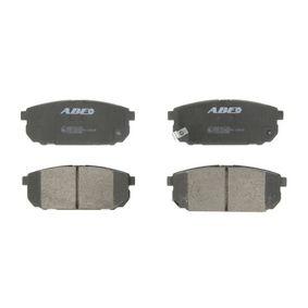 2011 KIA Sorento jc 2.5 CRDi Brake Pad Set, disc brake C20304ABE