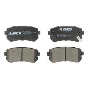 2011 KIA Ceed ED 1.6 CRDi 90 Brake Pad Set, disc brake C20308ABE