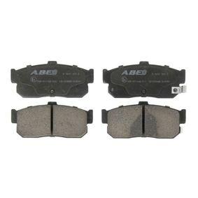 Bremsbelagsatz, Scheibenbremse Breite: 105,2mm, Höhe: 46,8mm, Dicke/Stärke: 16mm mit OEM-Nummer 44060-4U090