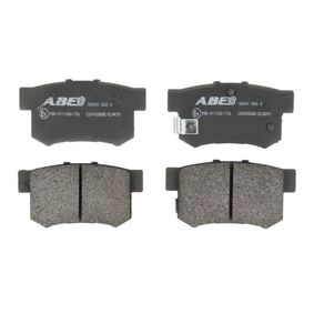 Brake Pad Set, disc brake C24005ABE CIVIC 8 Hatchback (FN, FK) 1.4 (FK1, FN4) MY 2013