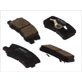 Kit pastiglie freno, Freno a disco (C25010ABE) per per Pompa Iniezione MITSUBISHI PAJERO III Fuoristrada aperto (V6_W, V7_W) 3.2 DI-D (V68W, V78W) dal Anno 04.2000 165 CV di ABE