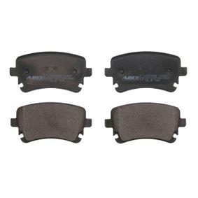 Bremsbelagsatz, Scheibenbremse Höhe: 59mm, Dicke/Stärke: 17,5mm mit OEM-Nummer 4B3 698 451 A