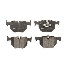 Brake Pad Set, disc brake Rear Axle C2B012ABE
