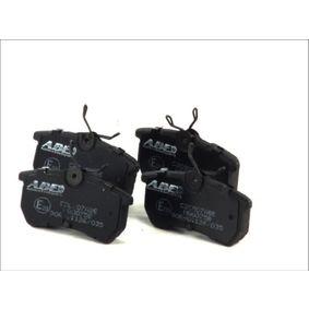 Brake Pad Set, disc brake C2G007ABE FIESTA 6 1.6 ST MY 2018