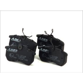 Brake Pad Set, disc brake Width: 87,2mm, Height: 42,5mm, Thickness: 14,5mm with OEM Number 1 107 698