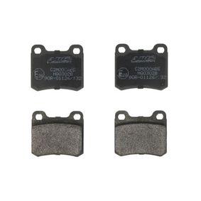 Bremsbelagsatz, Scheibenbremse Höhe: 54,25mm, Dicke/Stärke: 13,5mm mit OEM-Nummer 001 420 01 20