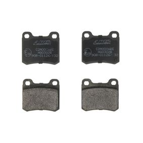 Bremsbelagsatz, Scheibenbremse Breite: 61,7mm, Höhe: 54,2mm, Dicke/Stärke: 13,5mm mit OEM-Nummer A 000 420 8820