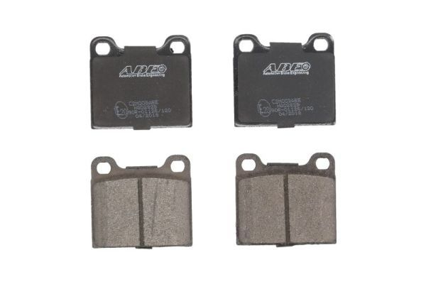 Scheibenbremse für Bremsanlage Vorderachse ATE 13.0460-6027.2 Bremsbelagsatz