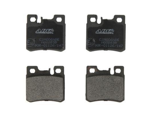 ABE  C2M006ABE Bremsbelagsatz, Scheibenbremse Breite: 61,7mm, Höhe: 58,5mm, Dicke/Stärke: 15,2mm