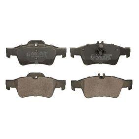 Bremsbelagsatz, Scheibenbremse Breite: 141,5mm, Höhe: 59,7mm, Dicke/Stärke: 16,5mm mit OEM-Nummer 0064200120