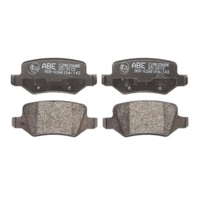 Brake Pad Set, disc brake Width: 95,6mm, Height: 41,5mm, Thickness: 14,3mm with OEM Number A16 842 00420