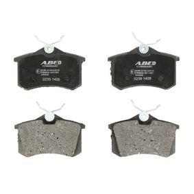 Brake Pad Set, disc brake C2W002ABE MEGANE 2 (BM0/1, CM0/1) 1.9 dCi MY 2007