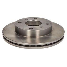 Bremsscheibe Bremsscheibendicke: 22mm, Lochanzahl: 4, Ø: 257mm mit OEM-Nummer 402067-1E06