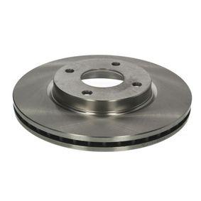 Bremsscheibe Bremsscheibendicke: 24mm, Lochanzahl: 4, Ø: 280mm mit OEM-Nummer 4020 6AX 600