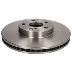 Disque de frein Epaisseur du disque de frein: 25,0mm, Nbre de trous: 5, Ø: 274,9mm avec OEM numéro 43512 20710