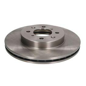 Спирачен диск дебелина на спирачния диск: 21мм, брой на дупките: 4, Ø: 262мм с ОЕМ-номер SDB100600