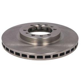 Brake Disc Brake Disc Thickness: 24mm, Num. of holes: 6, Ø: 276mm, Ø: 276mm with OEM Number MB928697
