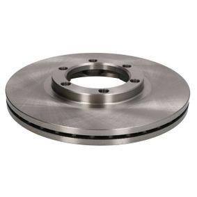 Bremsscheibe Bremsscheibendicke: 22,0mm, Lochanzahl: 6, Ø: 257mm mit OEM-Nummer 8941723761